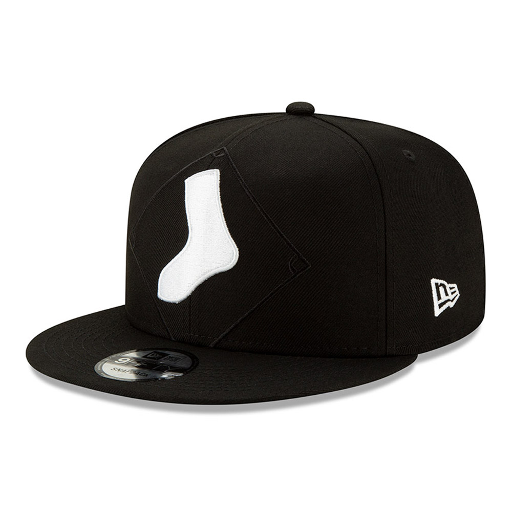 Chicago White Sox Element Logo 9FIFTY Snapback Cap