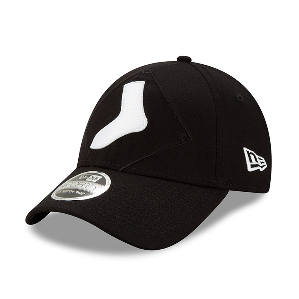 Chicago White Sox Element Logo Stretch Snap 9FORTY Cap