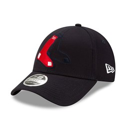 Boston Red Sox Element Logo Stretch Snap 9FORTY Cap