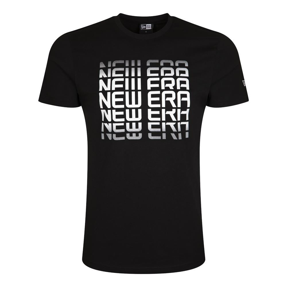 T-shirt noir New Era Inscription