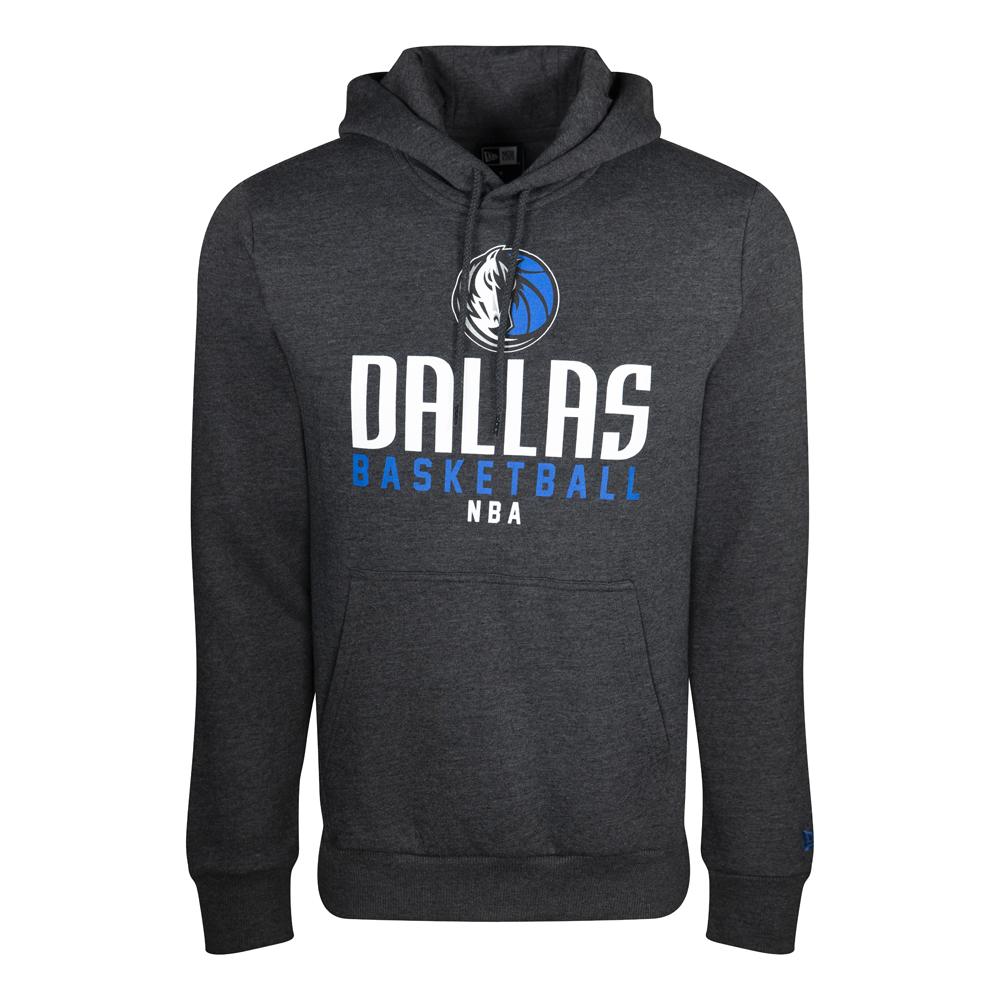 Sweat à capuche Dallas Mavericks gris