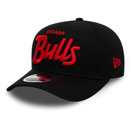 Gorra Chicago Bulls Wordmark Stretch 9FIFTY con botón de presión