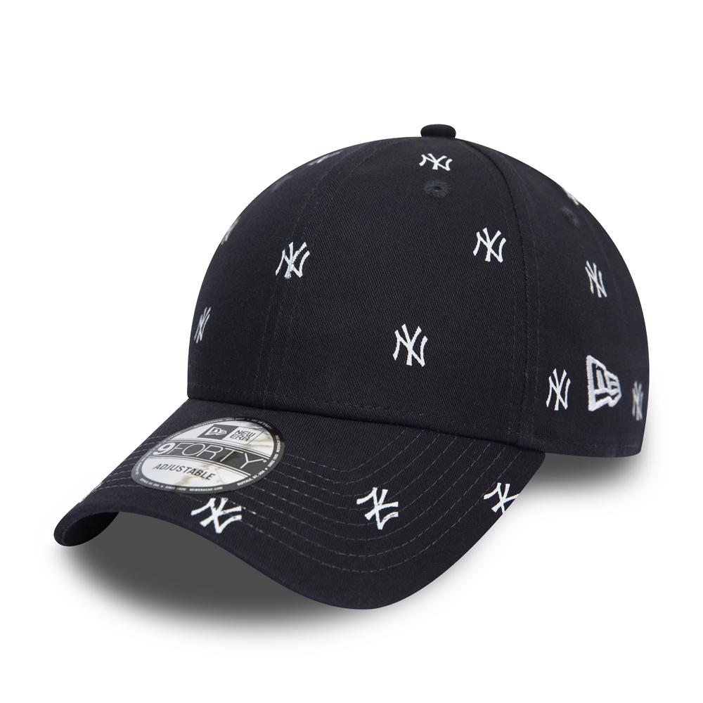 New York Yankees Luxe 9FORTY-Kappe in Marineblau