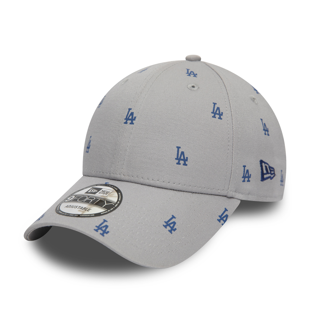 Cappellino 9FORTY Luxe dei Los Angeles Dodgers grigio