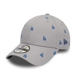 Casquette 9FORTY Los Angeles Dodgers luxe grise