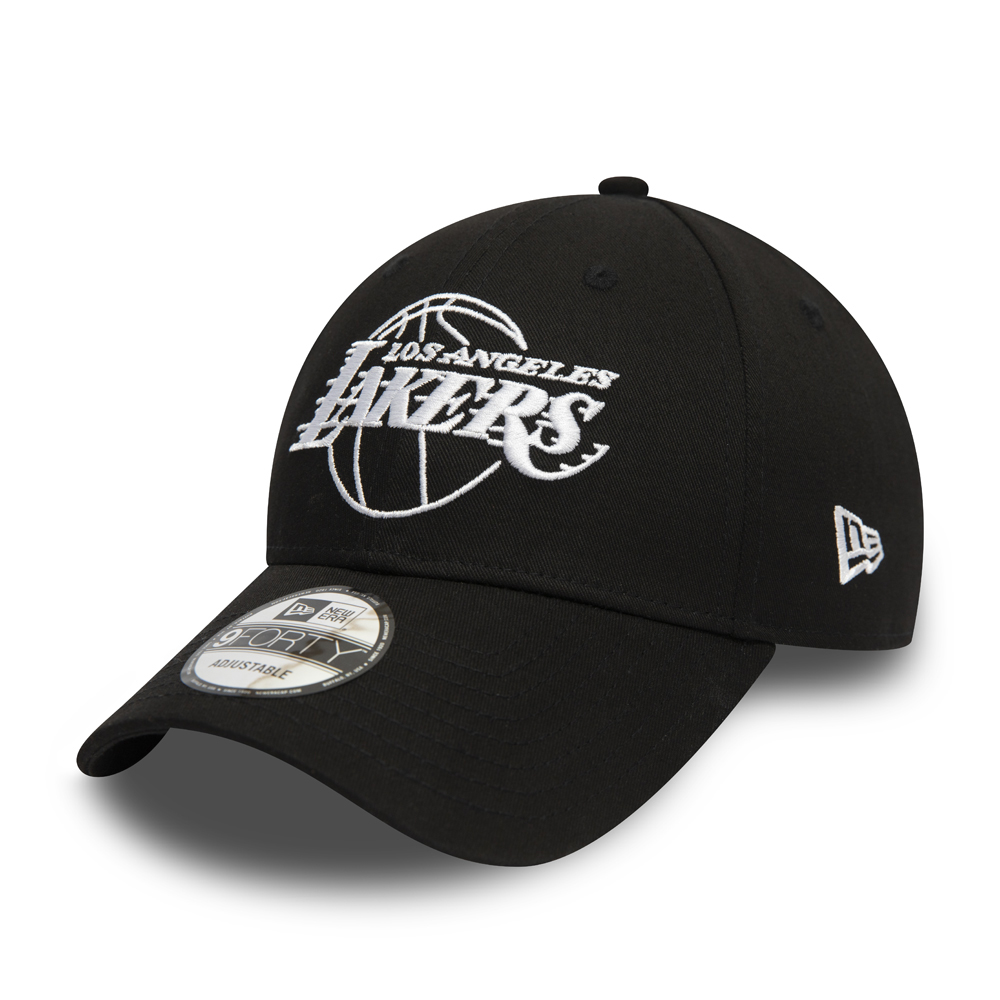 LA Lakers Essential Outline Black 9FORTY Cap