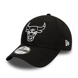Chicago Bulls Essential Outline Black 9FORTY Cap