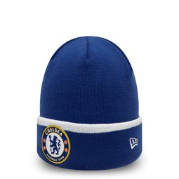 Chelsea FC Patch Blue Knit