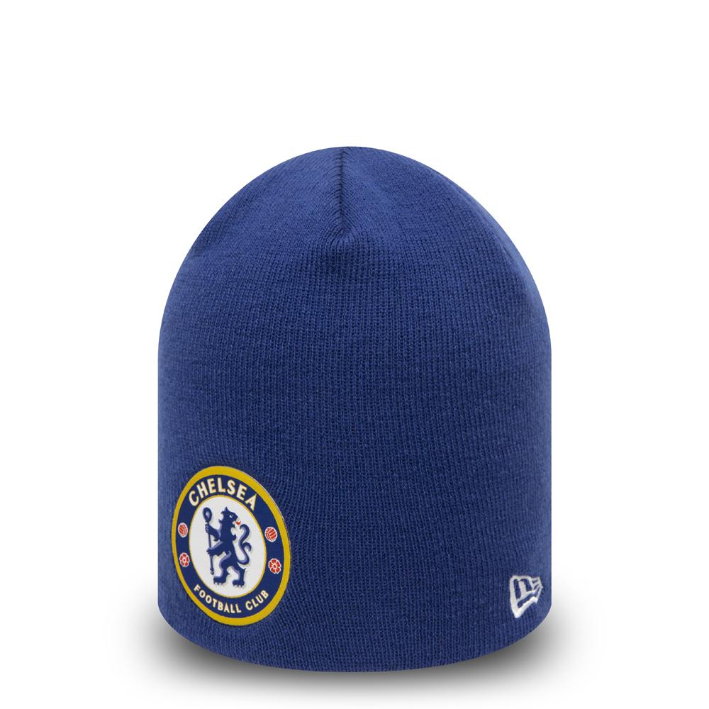Bonnet bleu Chelsea FC avec crâne