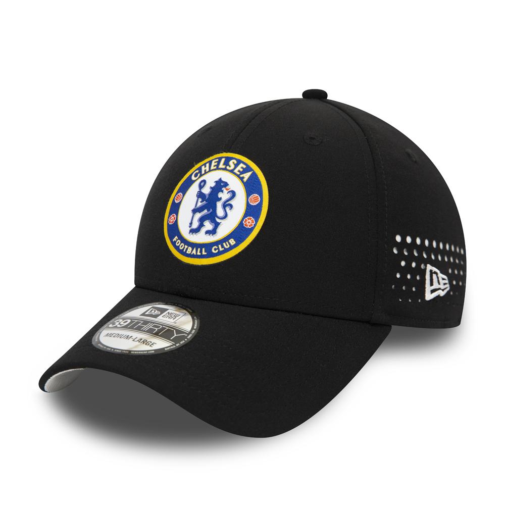 Gorra Chelsea FC Mesh 39THIRTY, negro