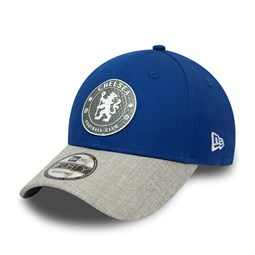 Chelsea FC Heather Visor Blue 9FORTY Cap
