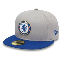 Chelsea FC Diamond Era Grey 59FIFTY Cap