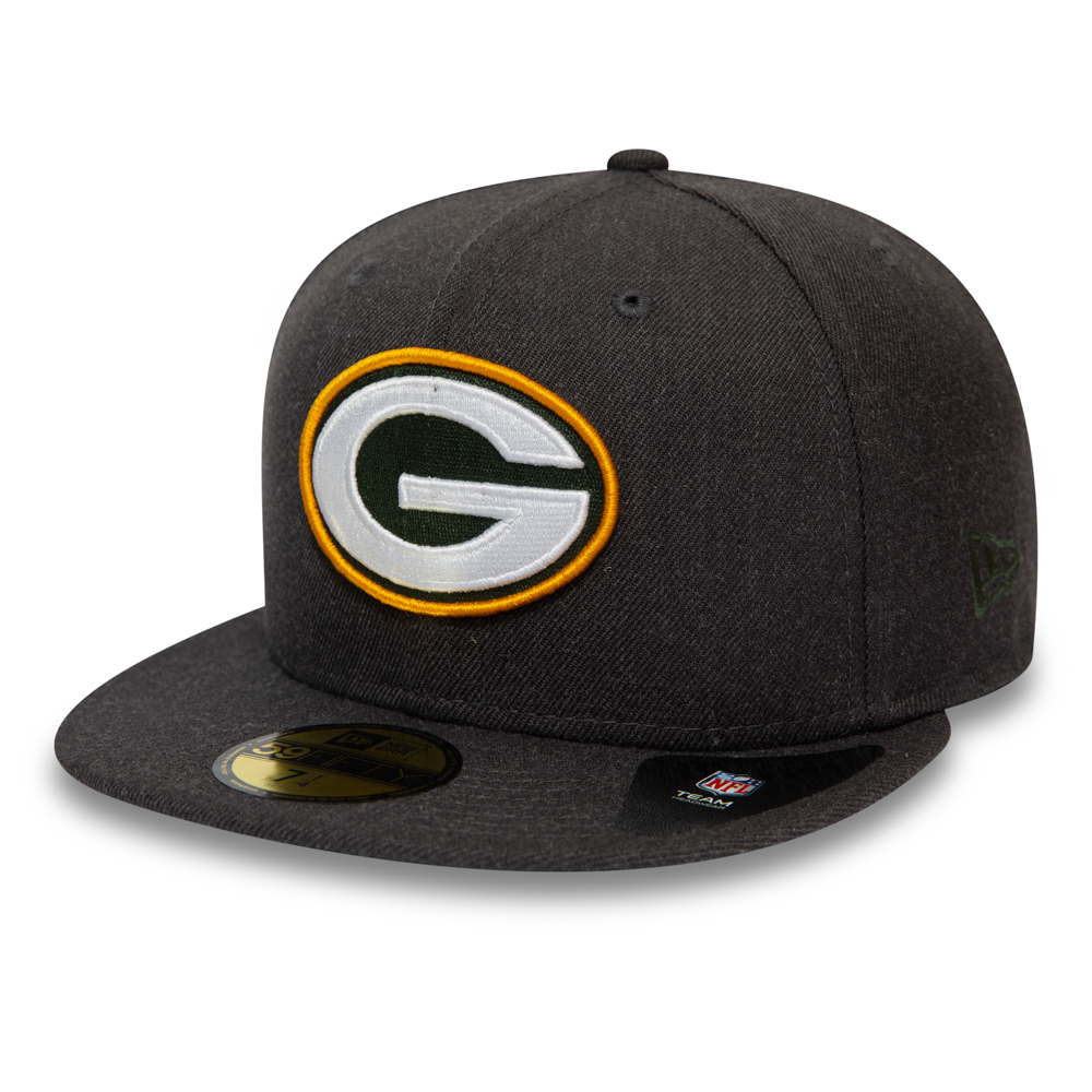 Cappellino 59FIFTY Essential dei Green Bay Packers grigio