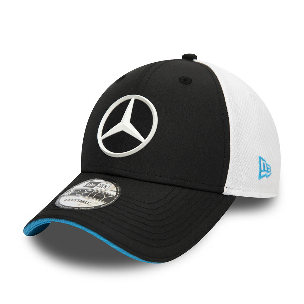 Gorra Mercedes-Benz Formula E Replica 9FORTY, negro