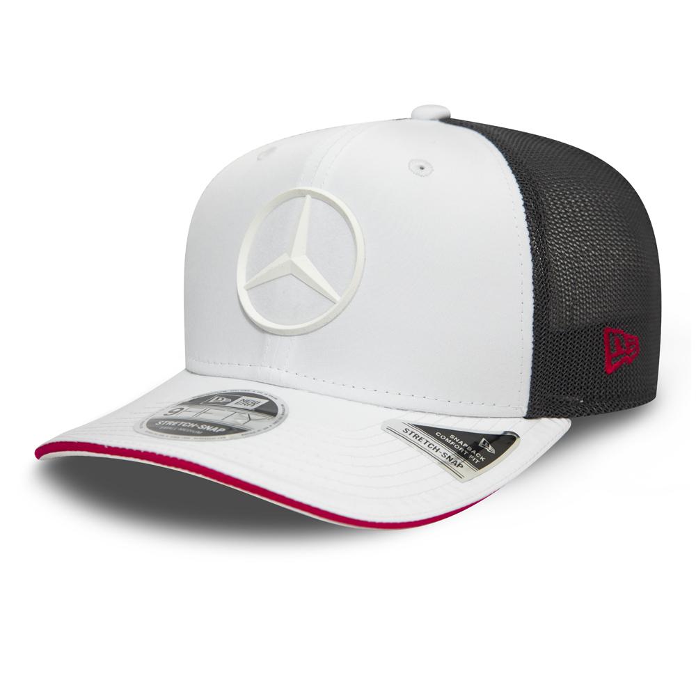 Casquette blanche extensible à languette 9FIFTY Mercedes-Benz E Sport