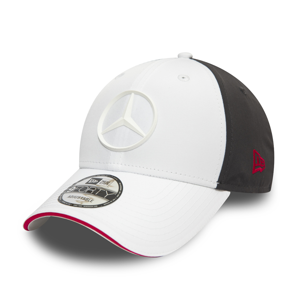 Gorra Mercedes-Benz E Sport 9FORTY, blanco
