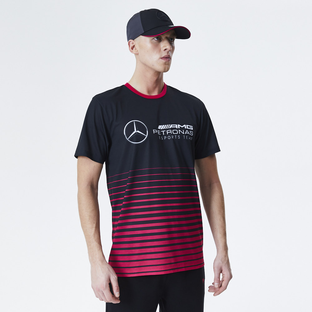 Mercedes-Benz – eSports – T-Shirt in Schwarz