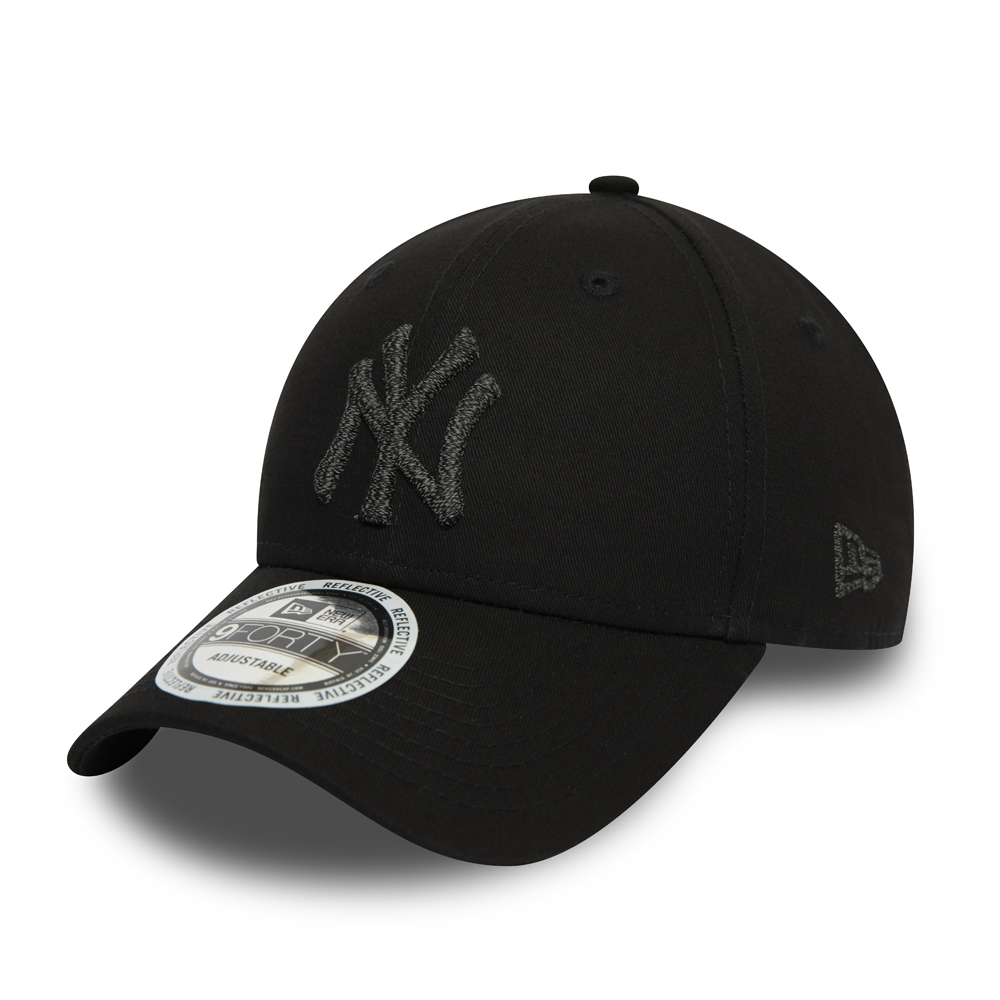 New York Yankees Reflective Black 9FORTY Cap