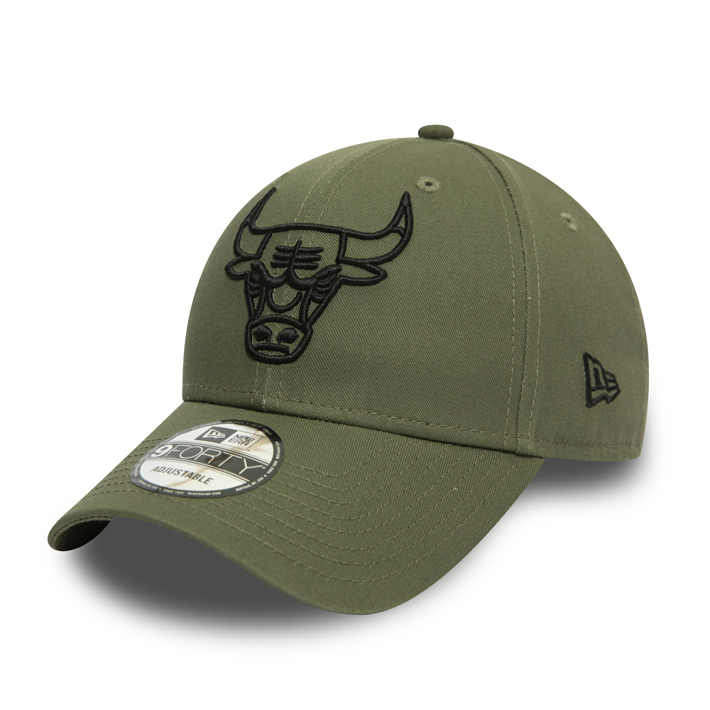 Chicago Bulls Essential Outline Green 9FORTY Cap
