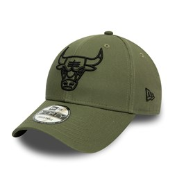 Casquette 9FORTY verte Chicago Bulls Essential Outline