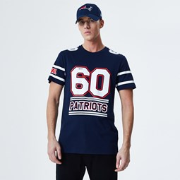 New England Patriots Team Established T-Shirt - Blau
