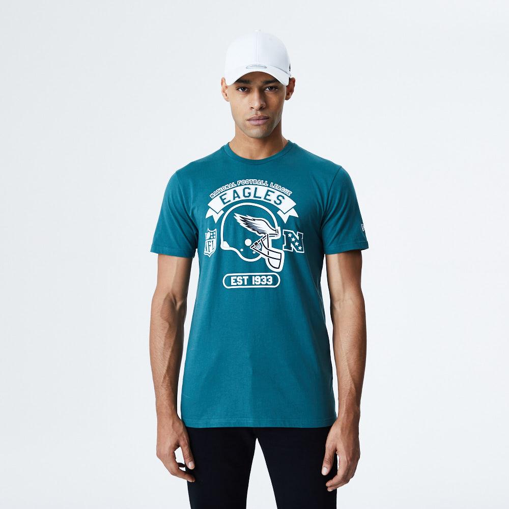 T-shirt Philadelphia Eagles Helmet blu
