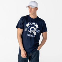 T-shirt bleu casque Los Angeles Rams