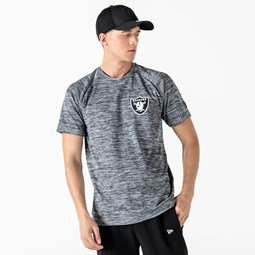Oakland Raiders Engineered Grey T-Shirt