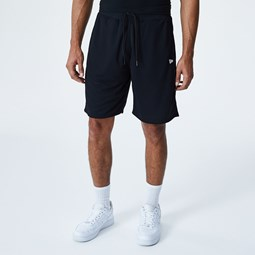 New Era – Wendbare Shorts in Schwarz-Weiß