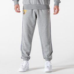 Los Angeles Lakers Piping Detail Grey Joggers