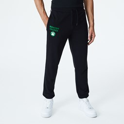 Boston Celtics Piping Detail Black Joggers