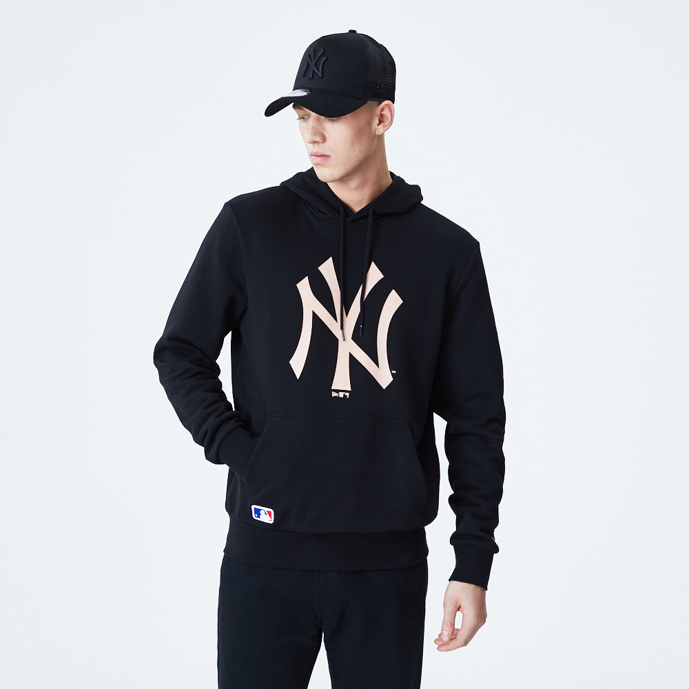New York Yankees – Pinker Hoodie mit Logo | New Era Cap Co.