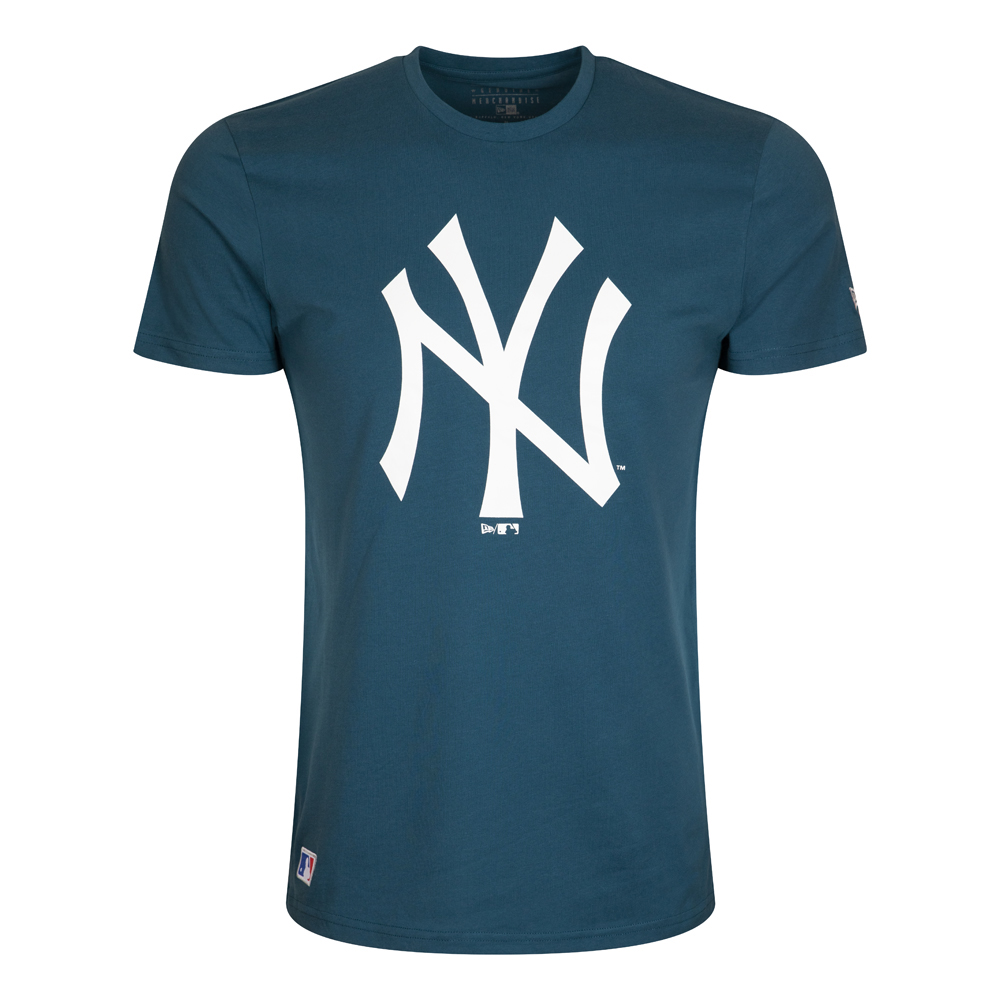 T-shirt stagionale dei New York Yankees blu