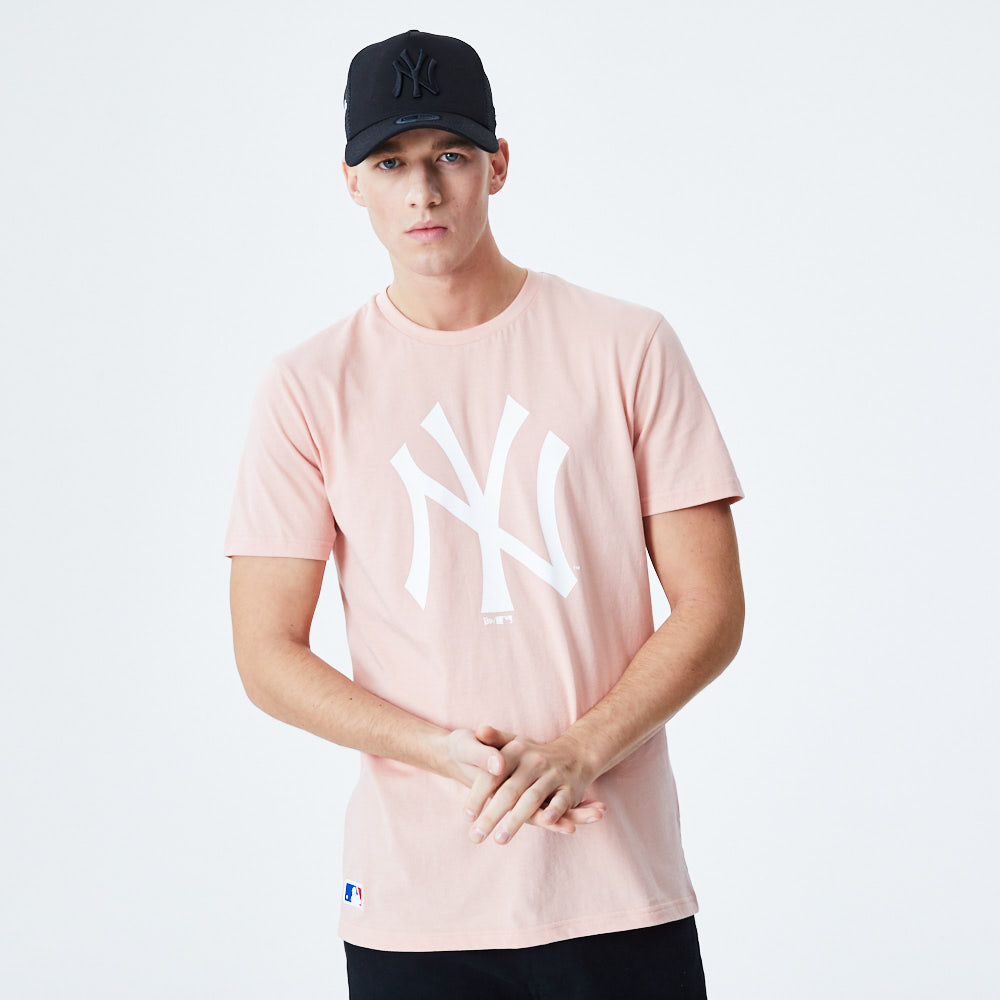 New York Yankees Seasonal Team Pink T-Shirt
