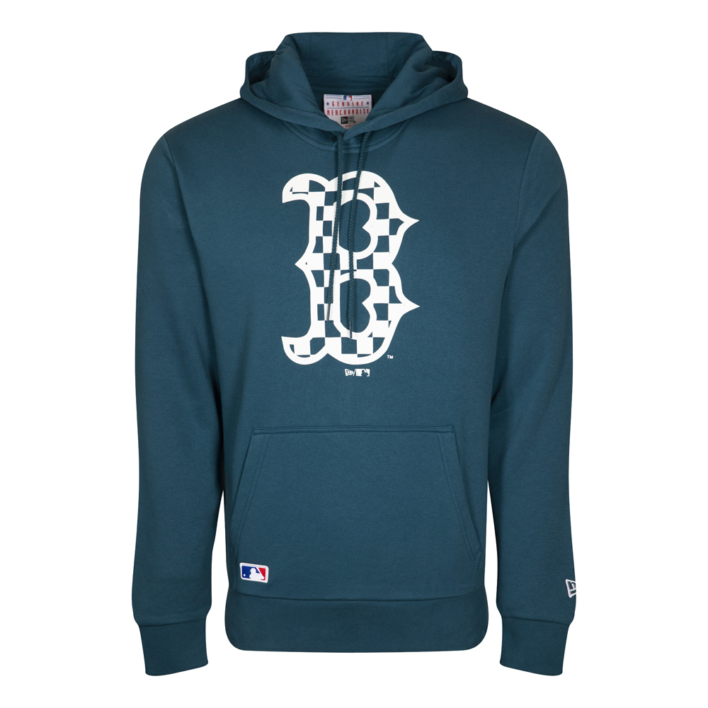 Boston Red Sox Logo Infill Blue Hoodie