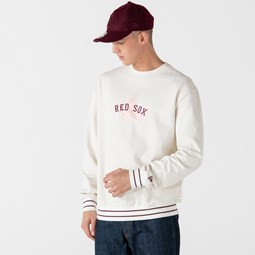 Sudadera Boston Red Sox Heritage Script, rosa