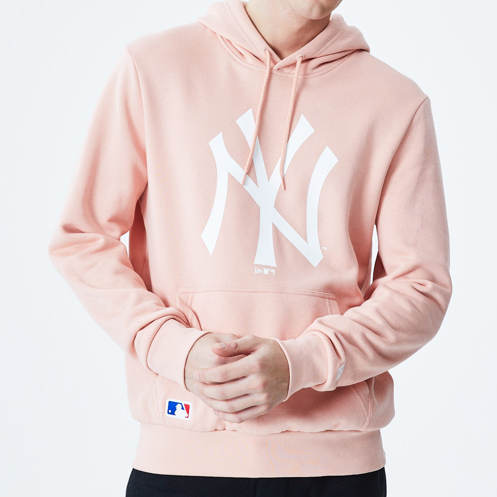 New York Yankees – Seasonal Team – Hoodie mit Logo – Rosa