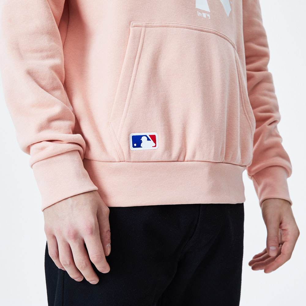 Sweat à capuche rose avec logo Seasonal Team des Yankees de New York