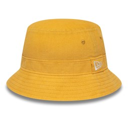 New Era Womens Cord Pastel Yellow Bucket