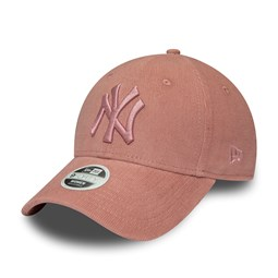 Casquette 9FORTY New York Yankees rose pastel, femme