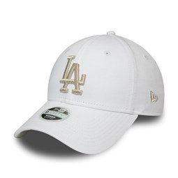 Cappellino 9FORTY Metallic Logo Los Angeles Dodgers donna bianco