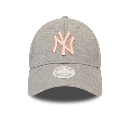 New York Yankees Womens Jersey Essential Pink Logo 9FORTY Cap