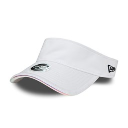 New Era Womens White Iridescent Visor