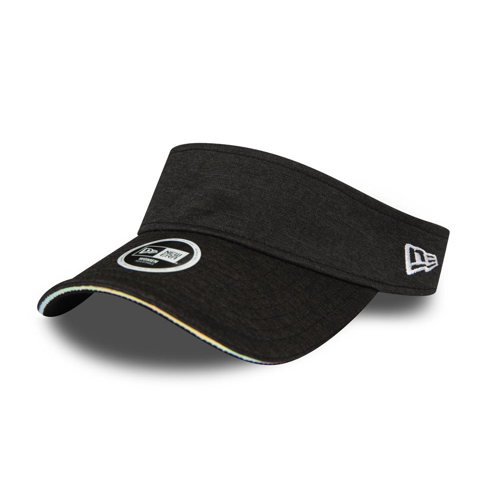 New Era Womens Black Iridescent Visor
