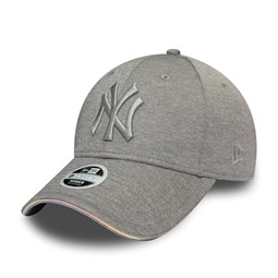New York Yankees Womens Iridescent Lining Grey 9FORTY Cap