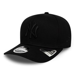 New York Yankees Tonal Black 9FIFTY Stretch Snap Cap