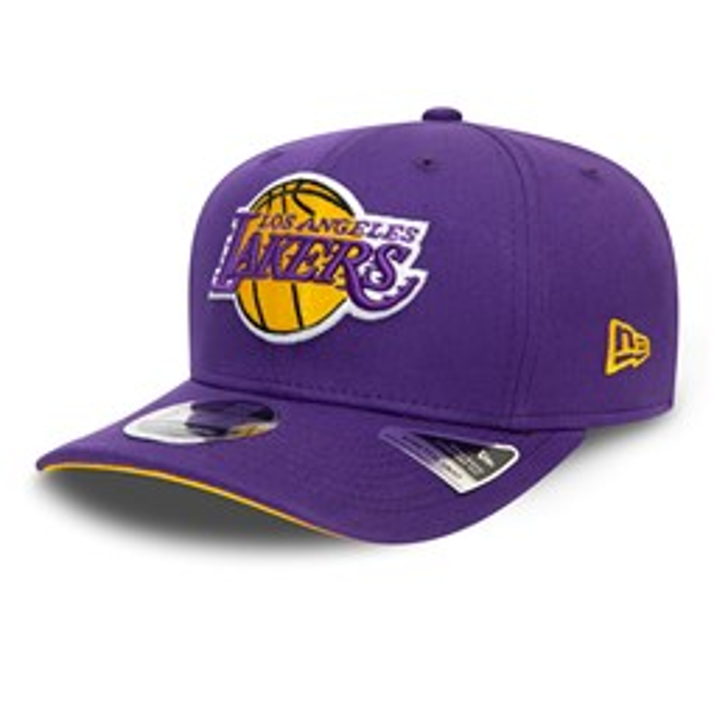 Gorra Los Angeles Lakers Team Stretch Snap 9FIFTY, morado