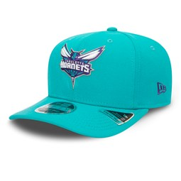 Charlotte Hornets Blue Stretch Snap 9FIFTY Cap