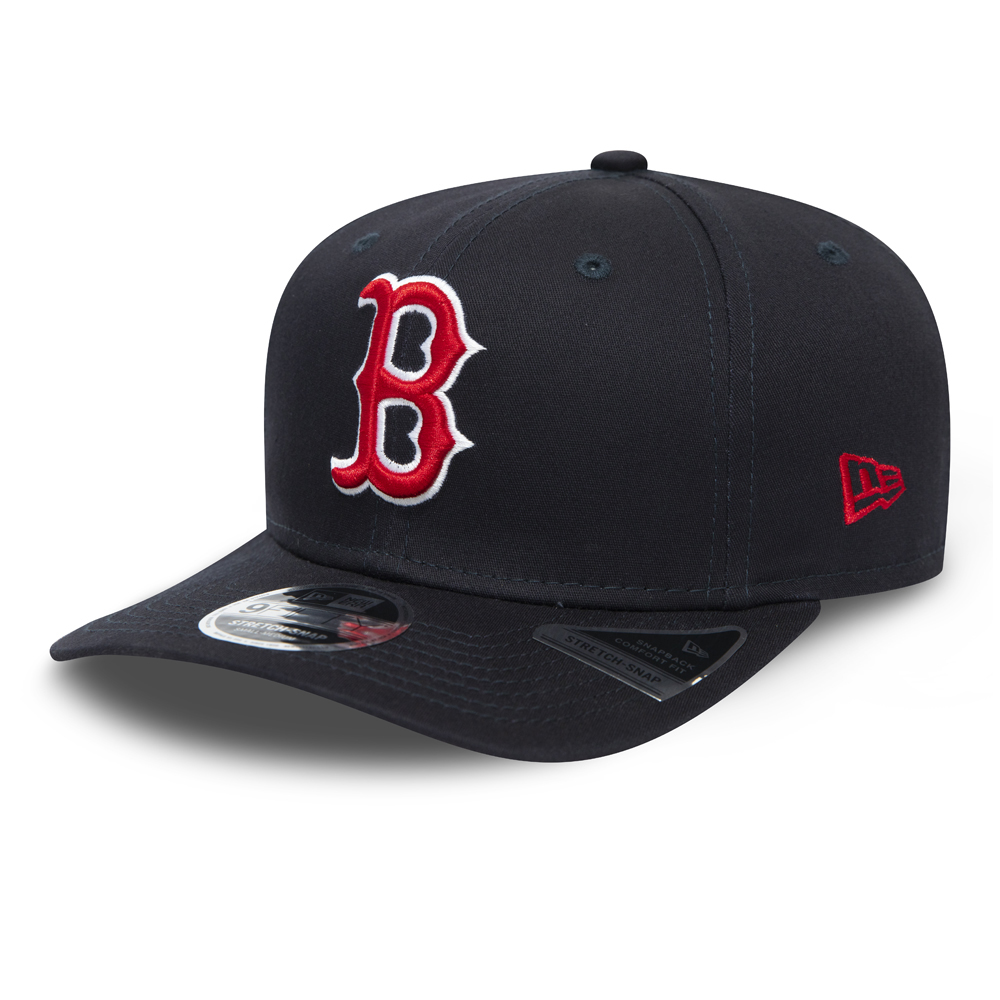 Boston Red Sox Navy Stretch Snap 9FIFTY Cap