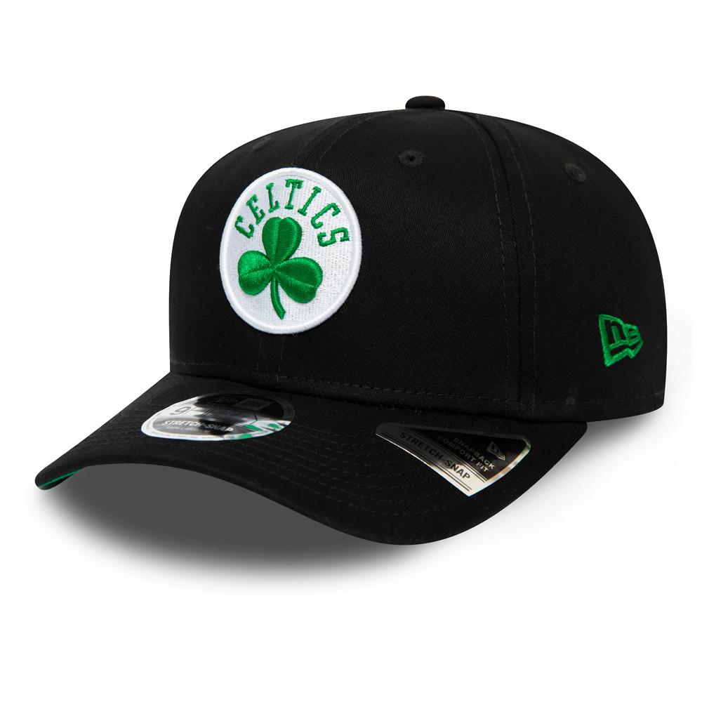 9FIFTY – Boston Celtics Black Team – Kappe mit Clipverschluss